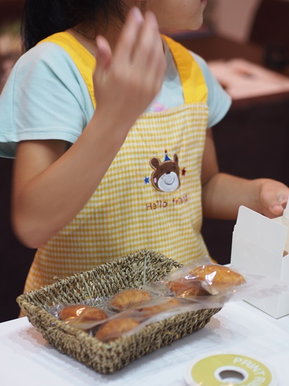 2014夏 小学生お菓子教室