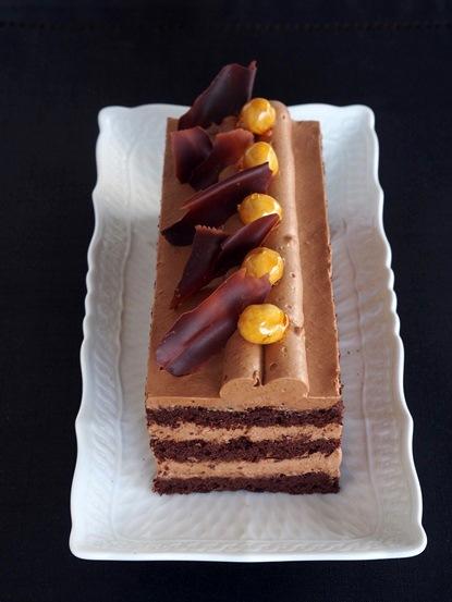 2015年1月2月「キャラメルショコラのケーキ」