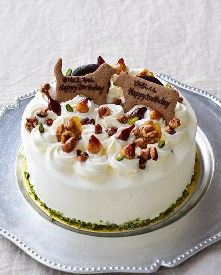 同僚のバースデーケーキ